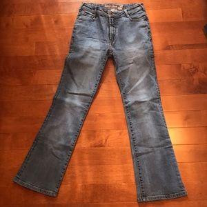 Parasuco straight leg jeans w flattering stretch